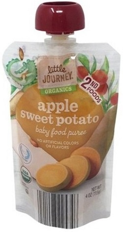 Apple Sweet Potato, Baby Food Puree
