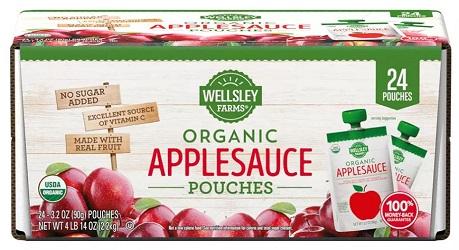 Organic Applesauce Pouches