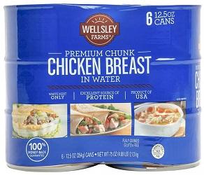 Chicken Breast in Water