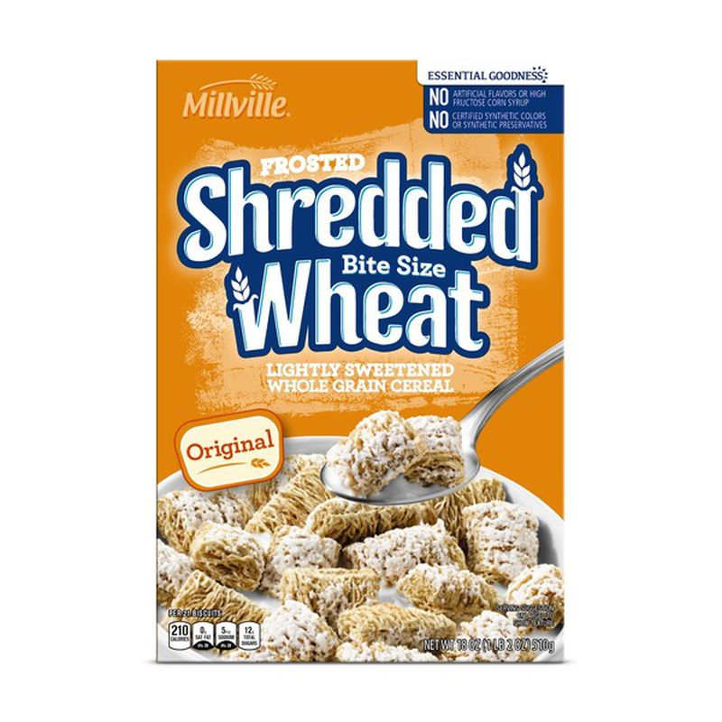 Frosted Shredded Bite Size Wheat