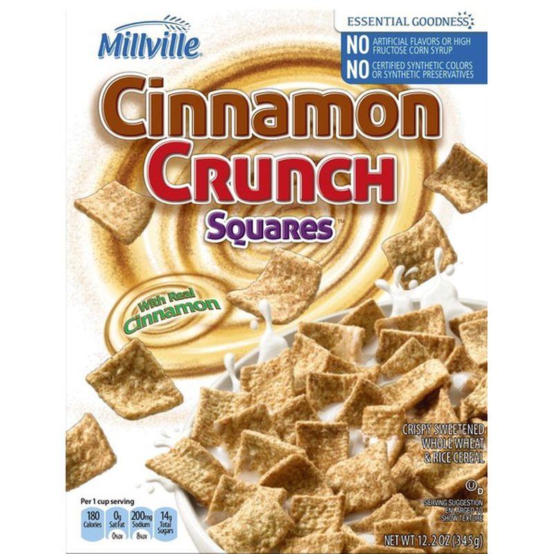 Cinnamon Crunch Squares
