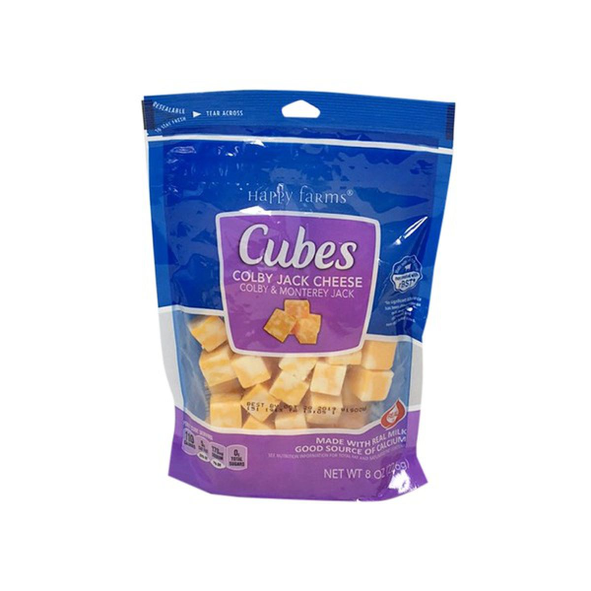 Colby Jack Cheese Cubes