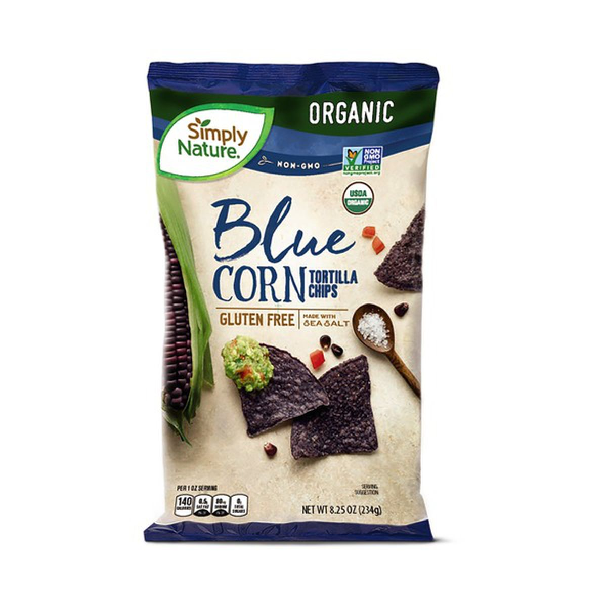 Organic Blue Corn Tortilla Chips