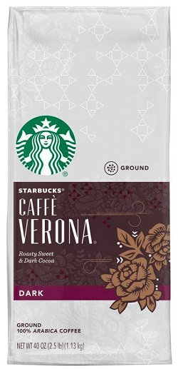 Caffe Verona Dark Roast Ground Coffee