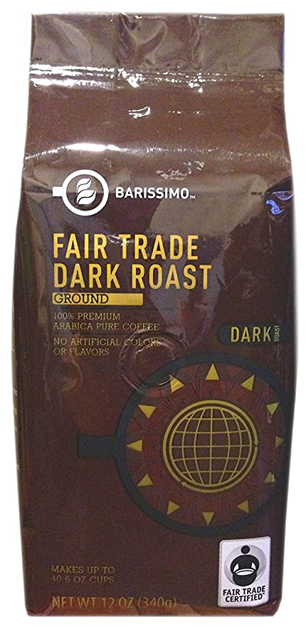 Dark Roast Ground Coffee - Fair Trade Certified