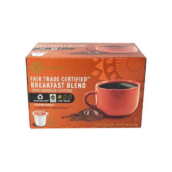 Breakfast Blend Coffee Cups - Fair Trade Certified