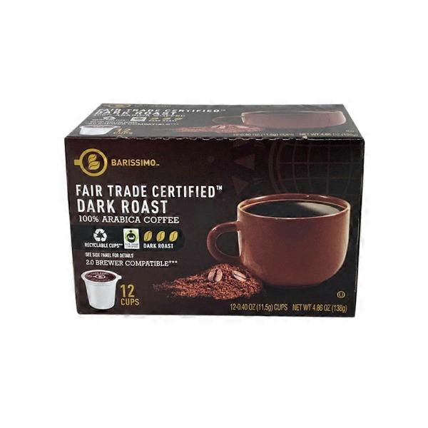 Dark Roast Coffee Cups - Fair Trade Certified