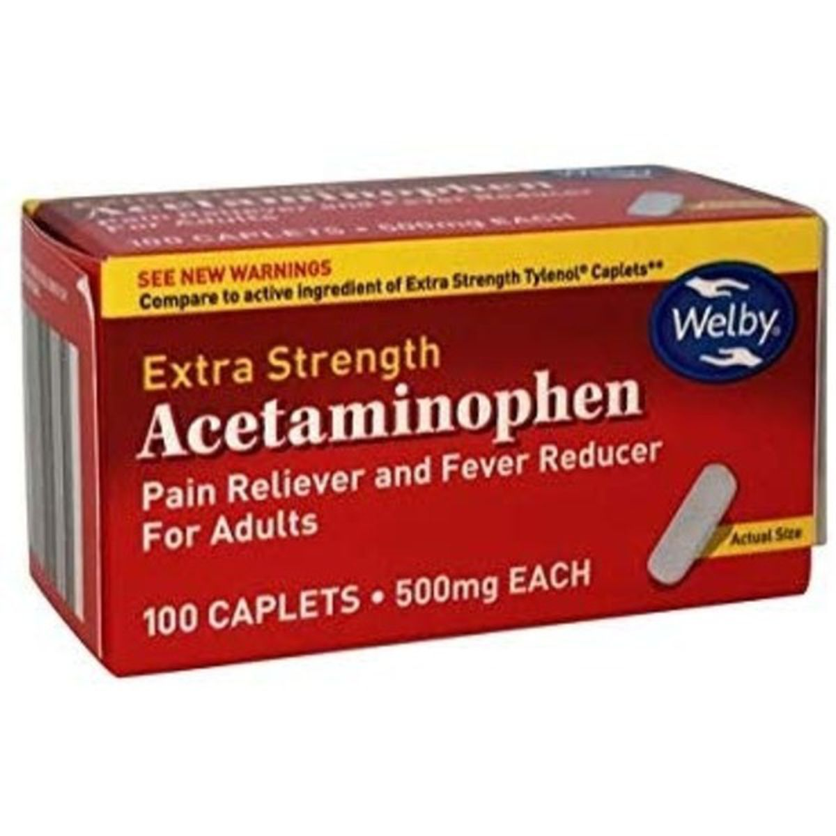 Acetaminophen, 500 mg Caplets
