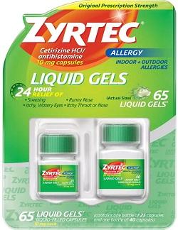 24 Hour Allergy Relief Liquid Gels