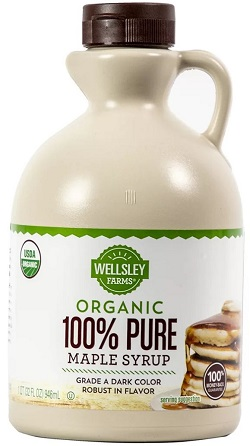 Organic Grade A Dark Maple Syrup