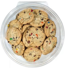 Candy Chocolate Chip Cookies