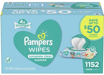 Baby Wipes Complete Clean Scented