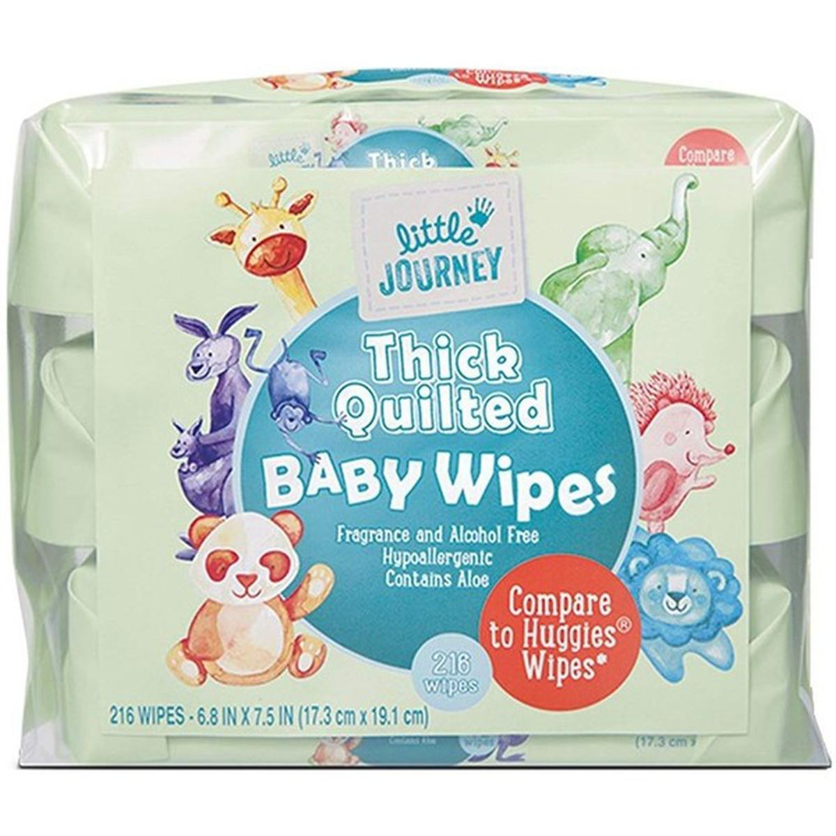Baby Wipes - Thick and Quilted