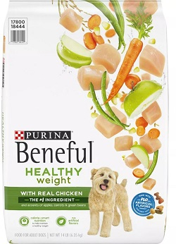 Beneful Healthy Weight with Real Chicken Adult Dry Dog Food, 14 lbs