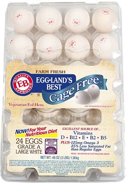 Cage Free Large White Eggs