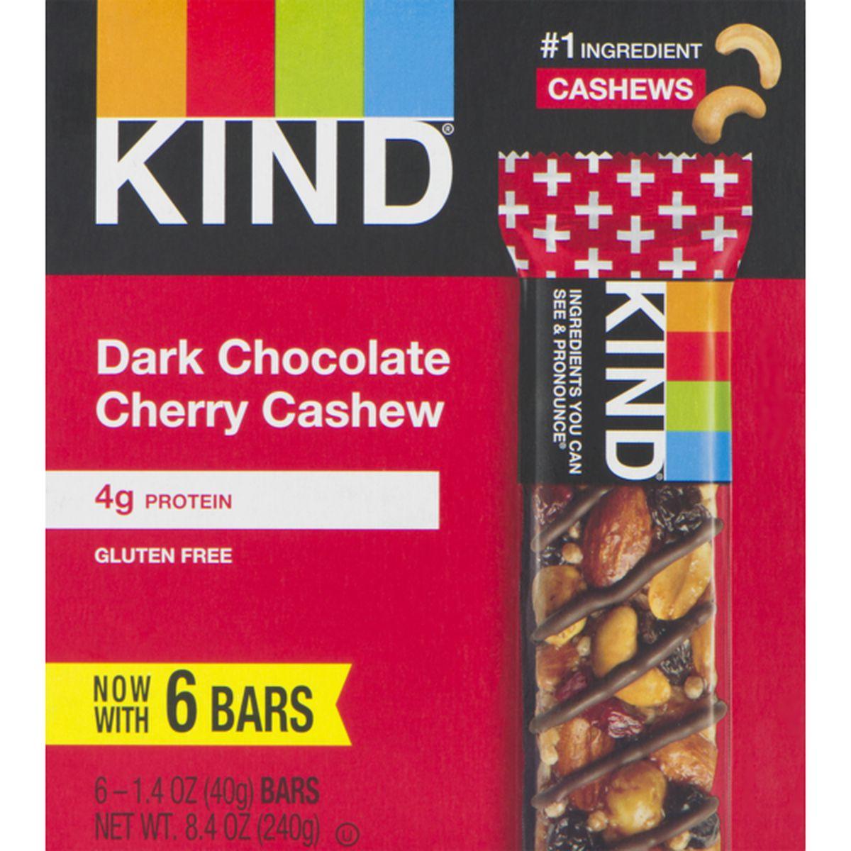 Dark Chocolate Cherry Cashew, Gluten Free