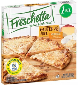 Four Cheese Gluten Free Pizza