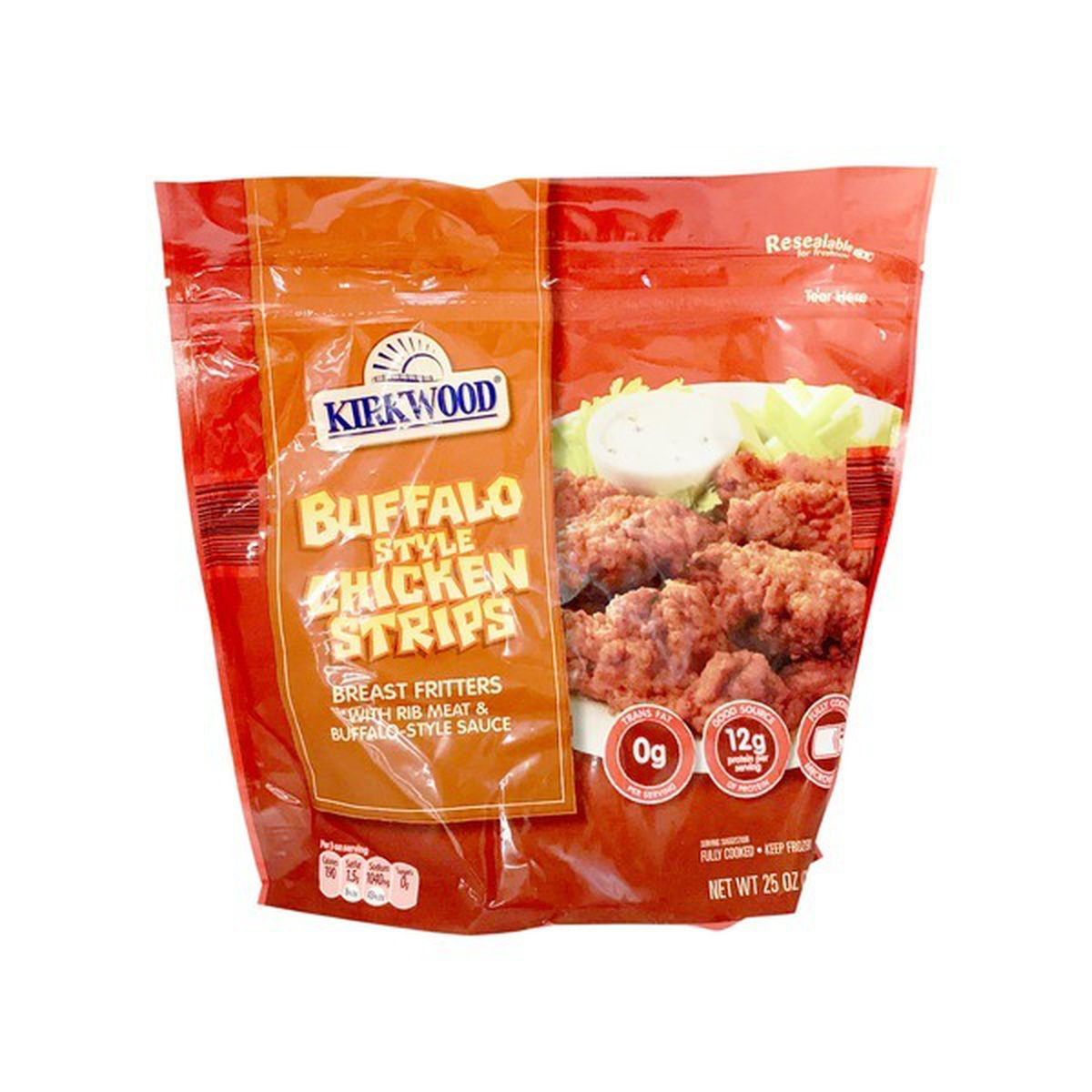 Buffalo Crispy Chicken Strips