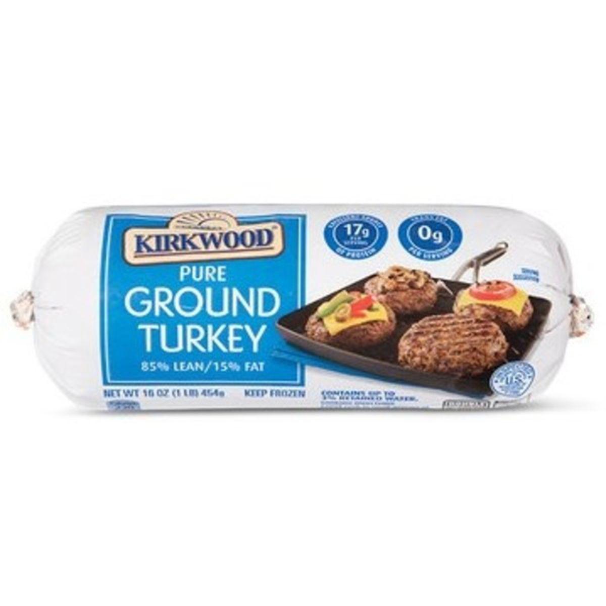 Frozen Ground Turkey