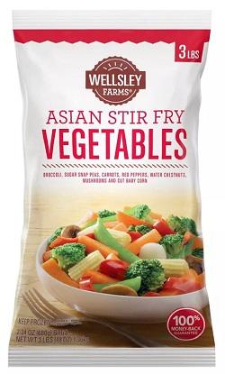 Asian Stir Fry Vegetables