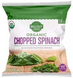 Organic Chopped Spinach