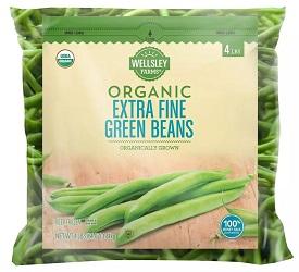 Organic Extra Fine Green Beans