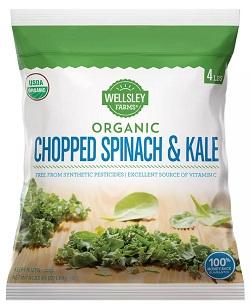 Organic Spinach Kale Blend
