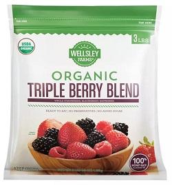 Organic Triple Berry Mix