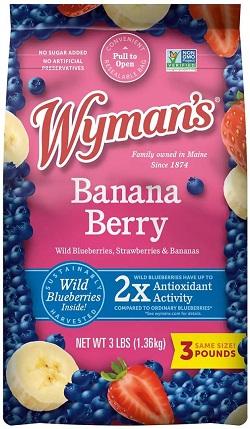 Banana Berry Fruit Mix