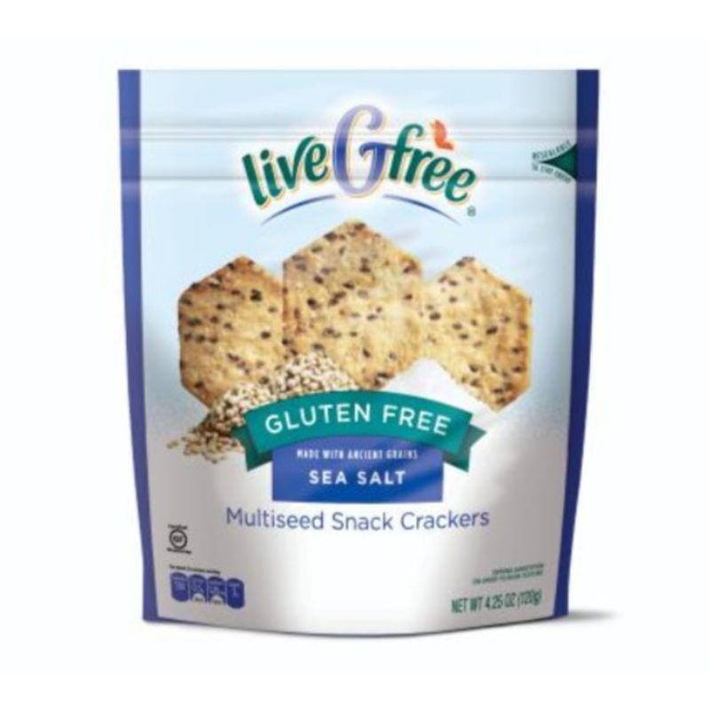 Multiseed Snack Crackers, Sea Salt - Gluten Free