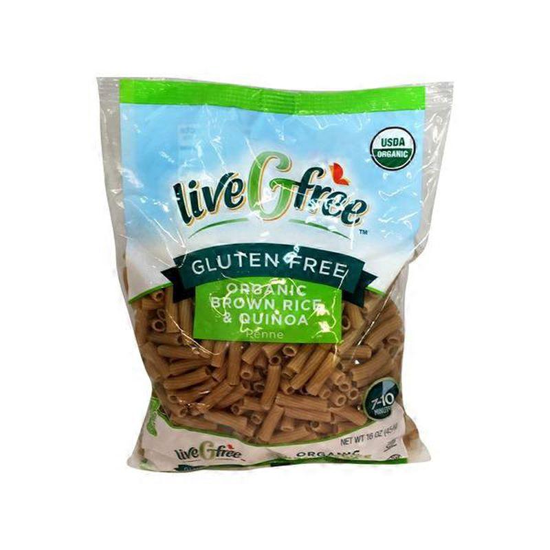 Brown Rice Quinoa Penne - Organic, Gluten Free