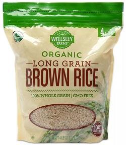 Organic Long-Grain Brown Rice