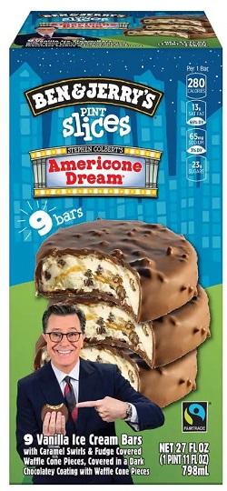 Americone Dream Pint Slices Ice Cream