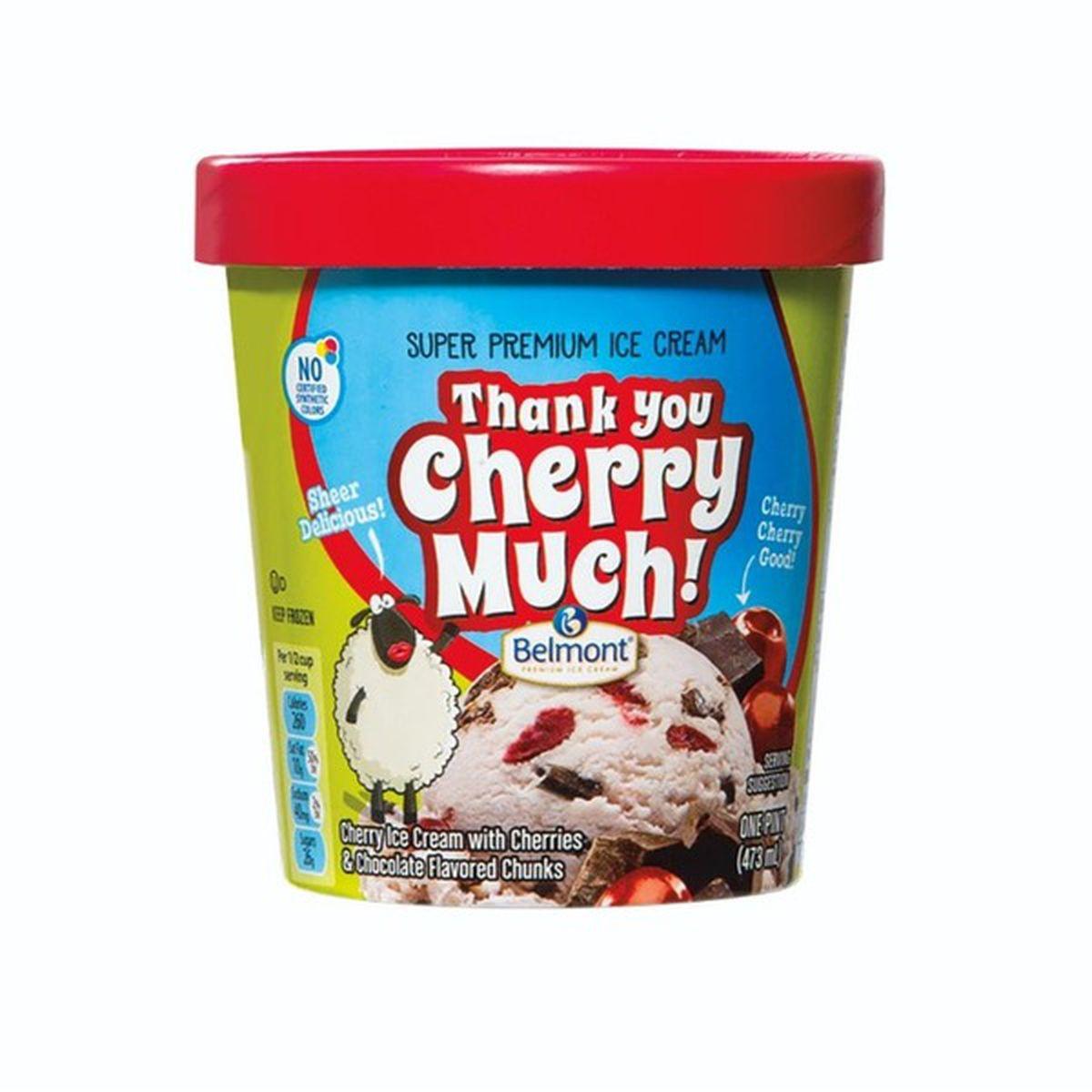 Thank You Cherry Much Premium Ice Cream