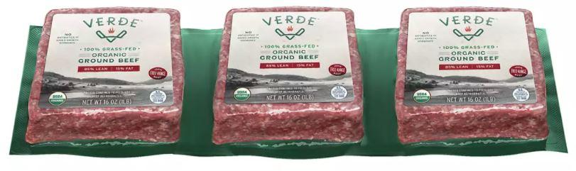 Organic Grass Fed 85% Ground Beef