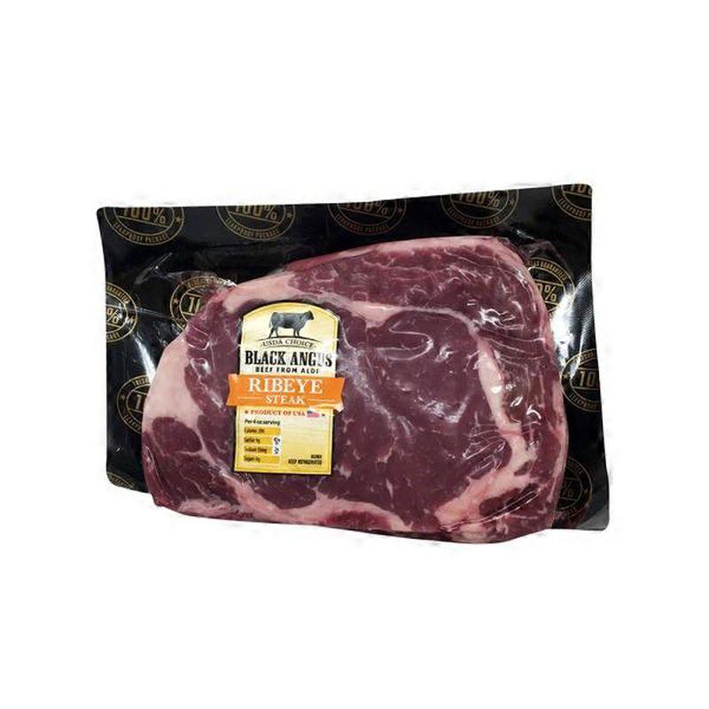 Black Angus Choice Ribeye Steak