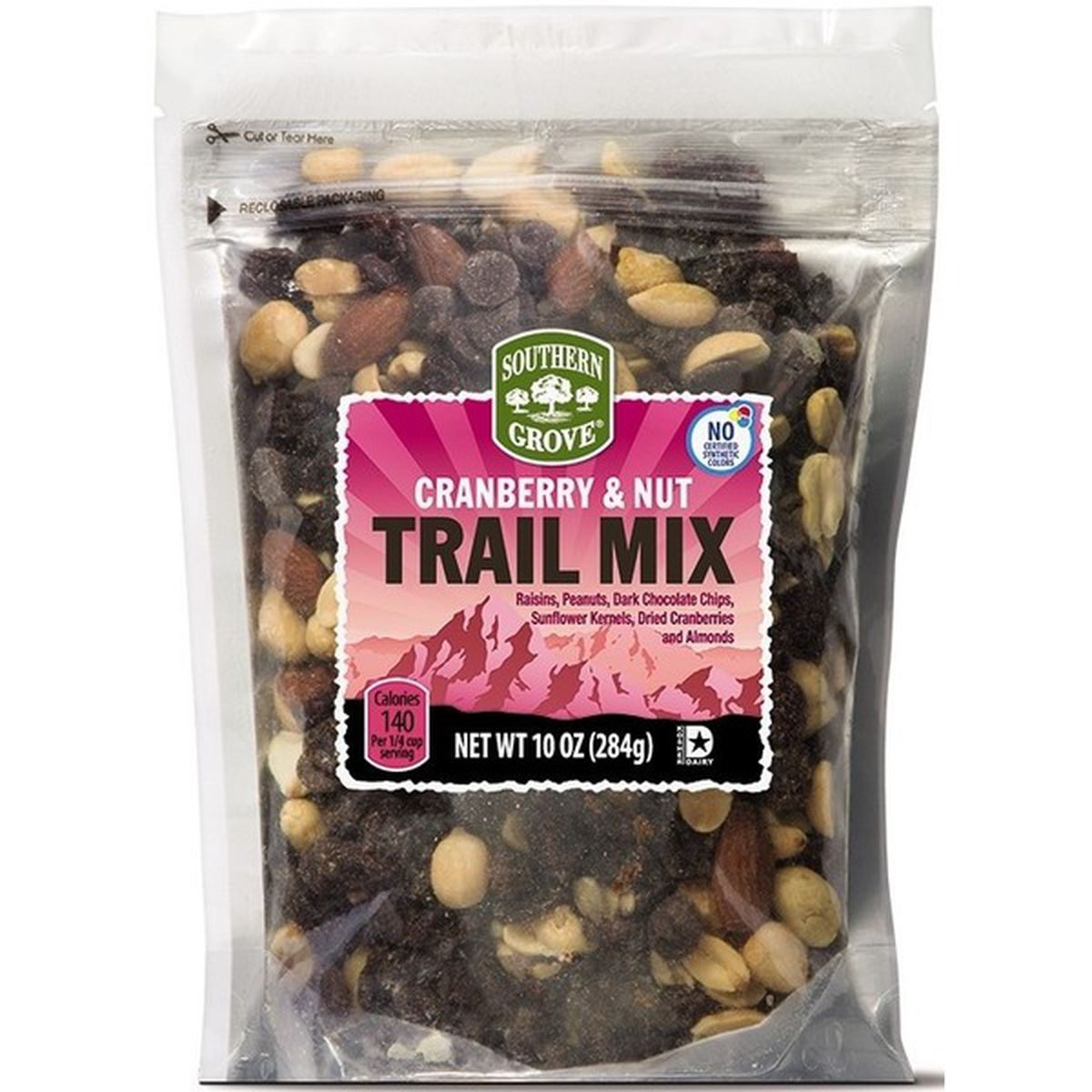 Cranberry and Nut Trail Mix
