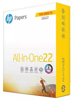 """All-In-One Printing Paper - 96 Brightness, 22 lb - 8 1/2"""" x 11"""""""