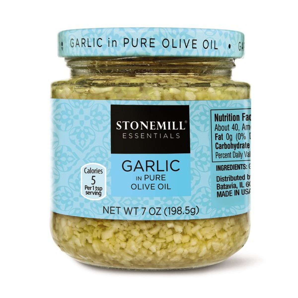 Minced Garlic in Pure Olive Oil