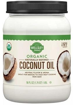 Organic Naturally Refined Coconut Oil