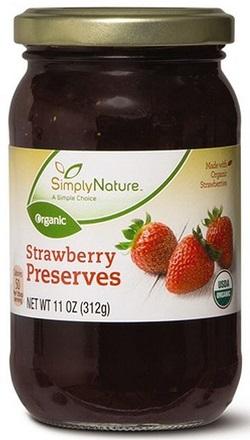 Organic Strawberry Preserves