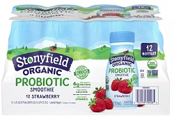 Organic Smoothie Strawberry with Probiotics